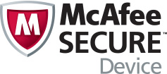 McAfee Secure Device logo