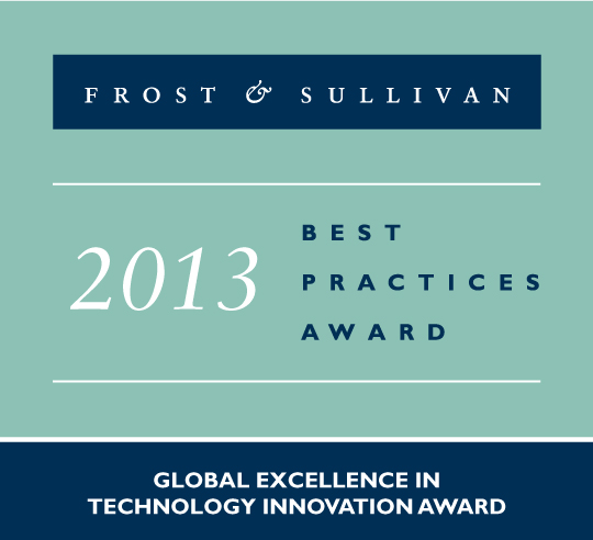 Xerox ConnectKey 2013 Excellence in Technology Innovation Award from Frost & Sullivan