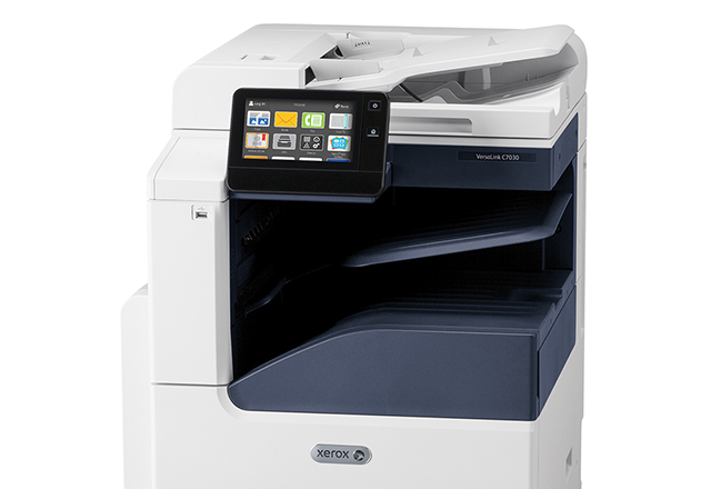 Xerox® VersaLink® C7020/C7025/C7030 Multifunktionsfarveprinter