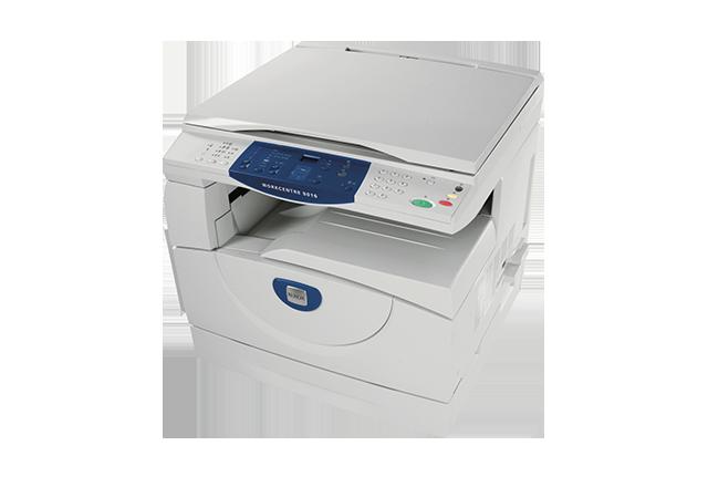 Workcentre 5016 black and white multifunction printers xerox for Bureau 64 xerox