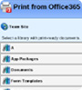 Print from Office 365