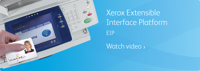 Xerox Extensible Interface Platform (EIP)