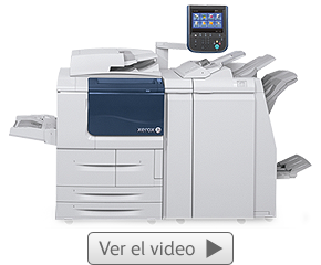 Xerox D95A/D110/D125 D95 D110 D125 video 290x240 es-ar