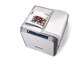Phaser 6100 - Big colour for<br/>small business...<br/>...at a small price