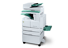 Workcentre pro 421 multifunction black and white for Bureau 64 xerox