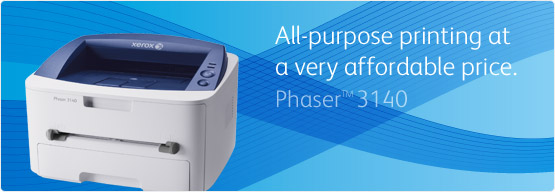 Phaser 3140/3155 - All-purpose printing at a very affordable price.