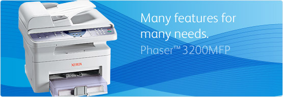 Phaser 3200MFP - Many features for many needs