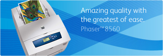Phaser 8560 - Amazing print quality with the greatest of ease