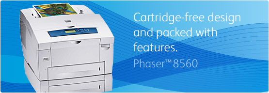 Phaser 8560 - Cartridge-free design and packed with features