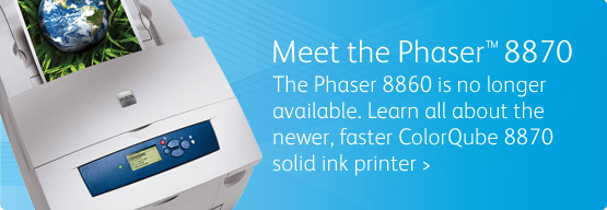 Phaser 8860 - It's easy: Print color. Now it costs the same as B&W.