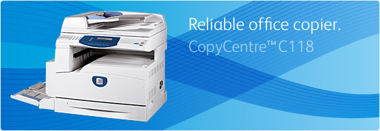 CopyCentre C118 - Easy to use, all-around flexibility