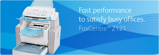FaxCentre 2121 - Fast performance to satisfy busy offices