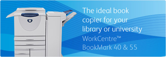 WorkCentre BookMark 40 & 55 - The ideal book copier for your library or university