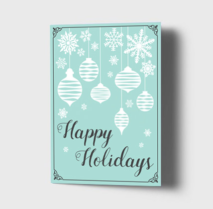 Free Printable Holiday Cards Gift Wrap and Photo Cards – Holiday Card Template