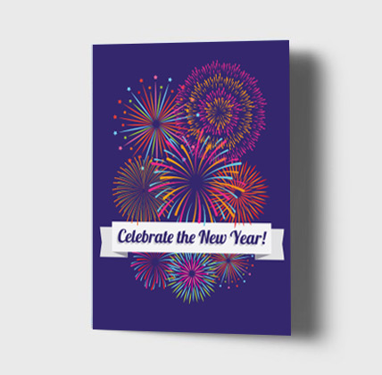 Free printable holiday cards gift wrap and photo cards small businesses resources happy new year reheart Choice Image