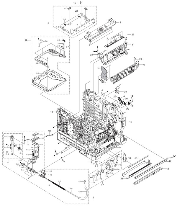 Hp Zt1130 Service Manual
