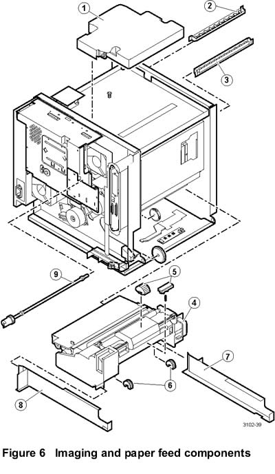 xerox office products  750 parts list  diagrams