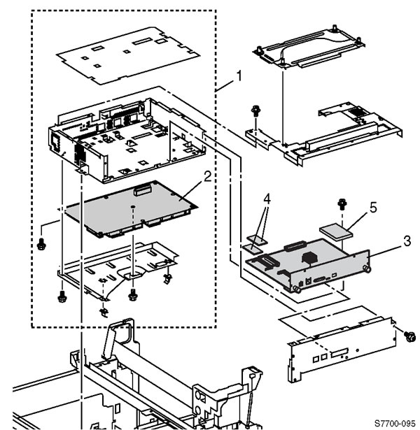 Xerox Office Products - Phaser 7700 Parts List/Diagrams