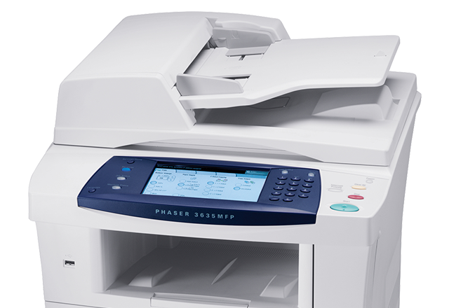 specifications for phaser 3635mfp desktop multifunction printer rh office xerox com Xerox Phaser 3635MFP Jam Rear Xerox WorkCentre 6605