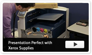 Genuine Xerox Supplies Presentation Perfect Video