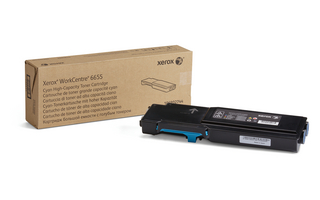 WorkCentre 6655/6655i Cyan Toner Cartridge