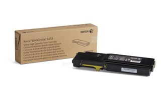 WorkCentre 6655/6655i Yellow Toner Cartridge
