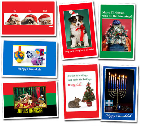 Free printable holiday cards gift wrap and photo cards small businesses resources assorted holiday cards reheart